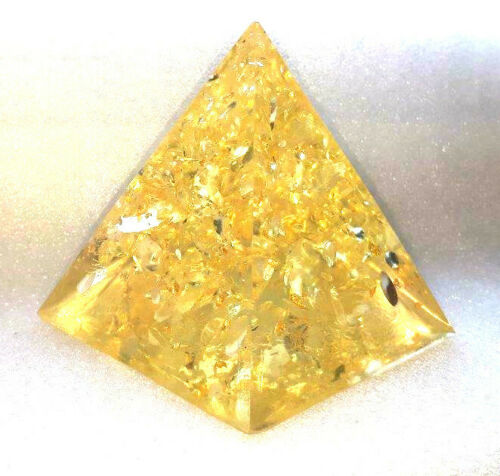 Beautiful-Golden-Healer-Orgonite-Pyramid-EMF-protection-in-your-home